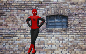 スパイダーマンモデリング
